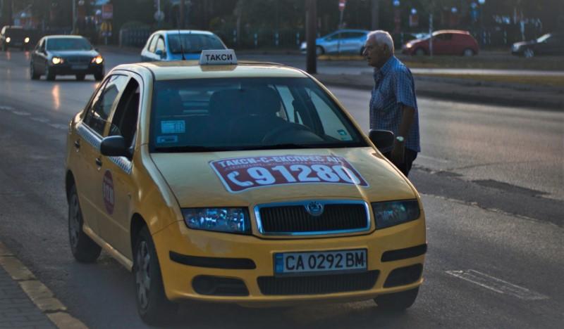 Bulharsko - Taxi