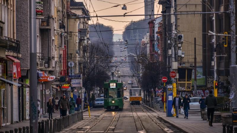 Bulharsko - tramvaj